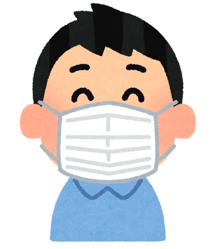 マスク着用のお願い(緊急事態宣言への対応 その2)